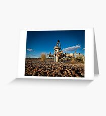 Outback Bore Water  Greeting Card