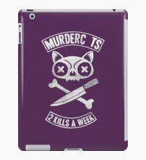 Murder Cat iPad Case/Skin