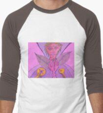 wing and a prayer Men's Baseball ¾ T-Shirt