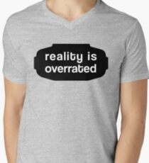 Reality is Overrated w. VR-Goggles T-Shirt