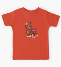 Bottle and Cappy Kids Tee