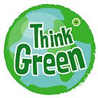 Think Green Awareness 2 - Happy quote by Silvia Neto
