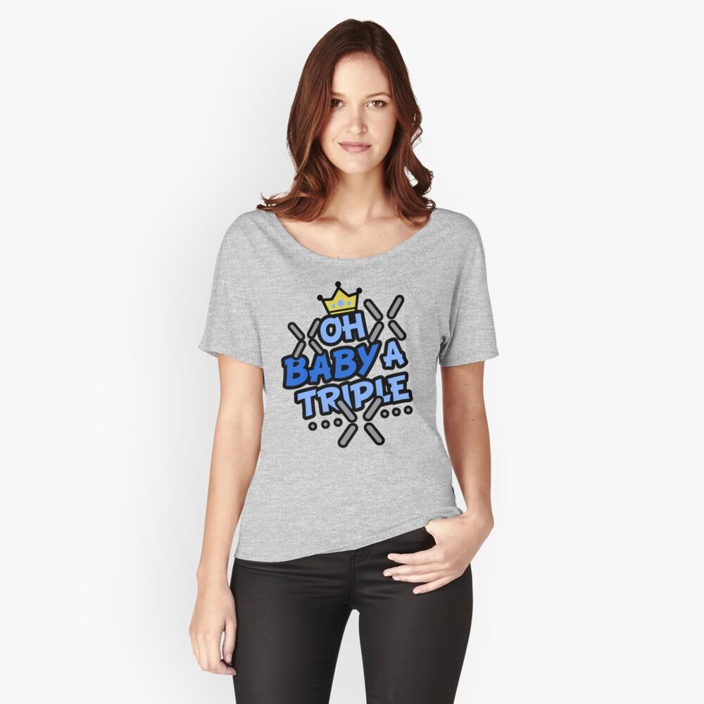 OH BABY A TRIPLE Camiseta ancha