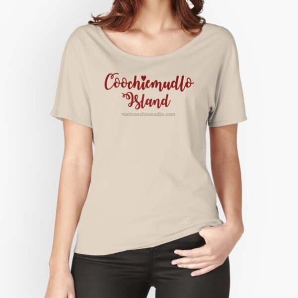 Coochiemudlo Island - heart Relaxed Fit T-Shirt