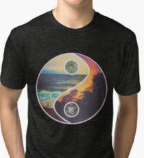 Nature Yin Yang Tri-blend T-Shirt