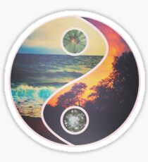 Nature Yin Yang Sticker