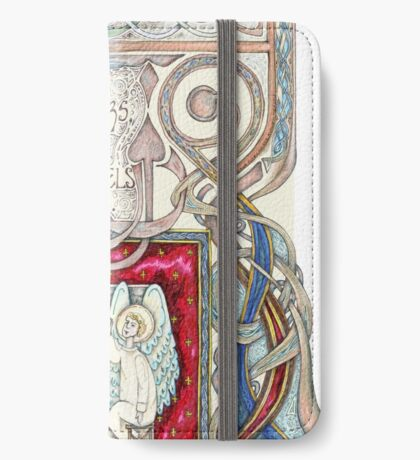 Hospitality to Angels iPhone Wallet