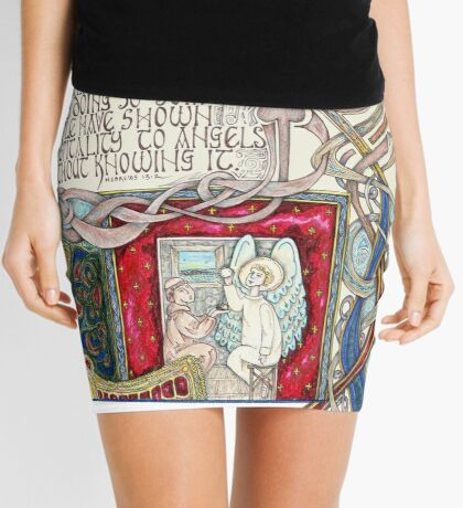 Hospitality to Angels Mini Skirt
