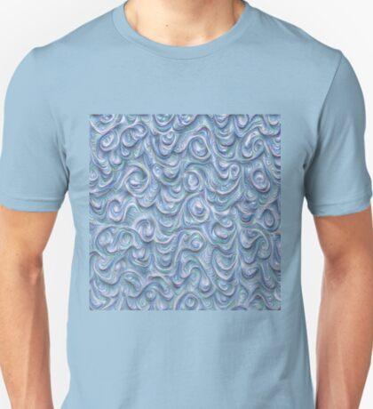 Surface texture #DeepDream #Art Blue T-Shirt