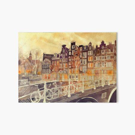 Amsterdam Art Board Print