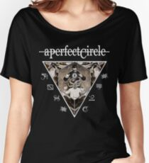 APC02 A Perfect Circle Spring Tour 2017 Women's Relaxed Fit T-Shirt