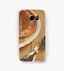 diet healthy eating pancakes Samsung Galaxy Case/Skin