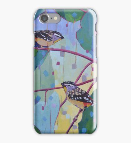Pardalote Valentine iPhone Case/Skin