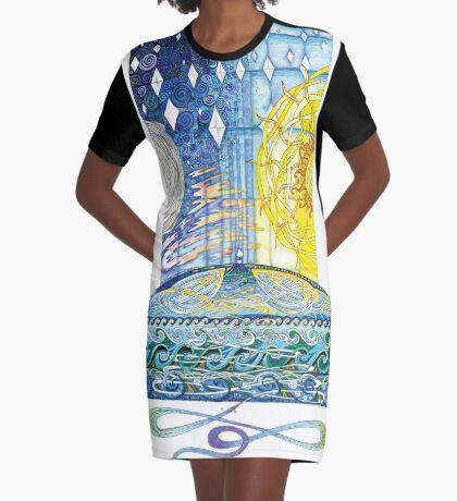 My Saviours Love Graphic T-Shirt Dress
