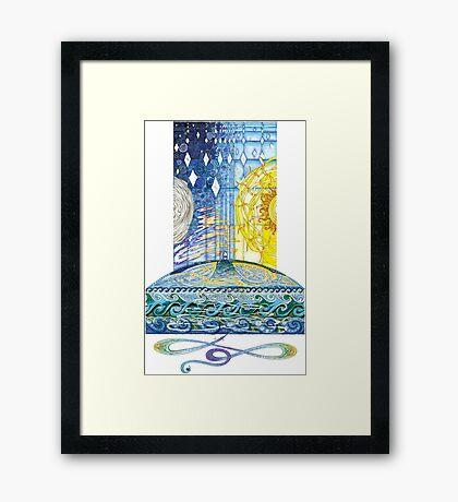 My Saviours Love Framed Print