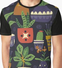 Potted Plant Graphic T-Shirt