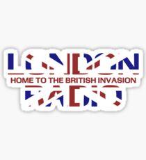 British Invasion - London Radio (Flag) Sticker