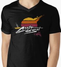 Costa Del Sol Mens V-Neck T-Shirt