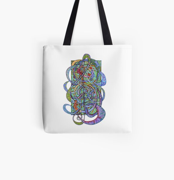 Praise Him With Sound All Over Print Tote Bag