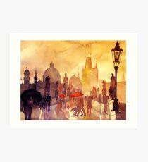Charles Bridge, Prague Art Print