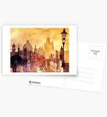 Charles Bridge, Prague Postcards