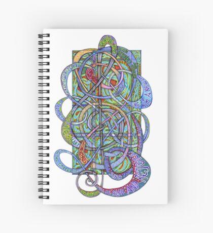 Praise Him With Sound Spiral Notebook