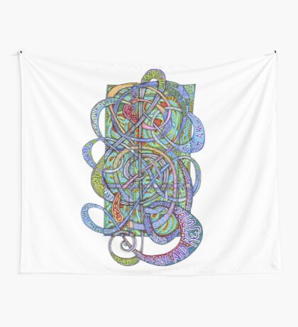 Praise Him With Sound Wall Tapestry
