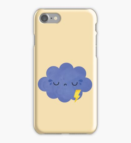 frustrated cloud iPhone Case/Skin