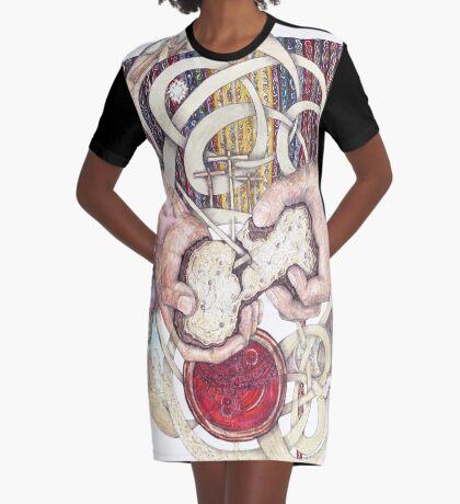 Remember Me Graphic T-Shirt Dress