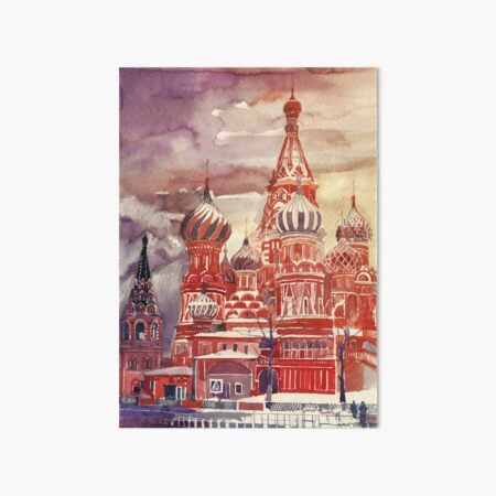 Moscow Art Board Print