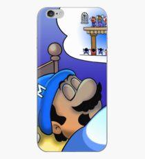 Dreaming Mario iPhone Case