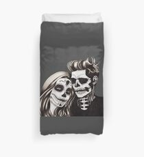 Day of the Dead Lovers Duvet Cover