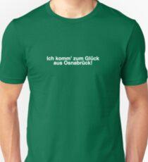 Ich Komm zum Glück aus Osnabrück - Vetements fall 2017 T-Shirt