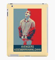 Avengers assembrrrrrawwwwwlghhh iPad Case/Skin