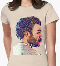 Abstract Gambino Fitted T-Shirt