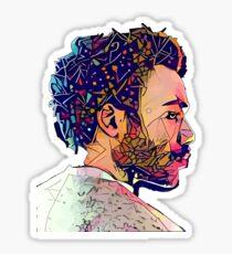 Abstract Gambino Sticker
