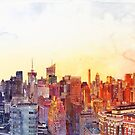 Sunshine in NYC by Maja Wrońska