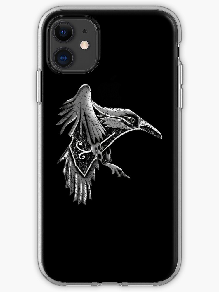 coque iphone 7 corbeau