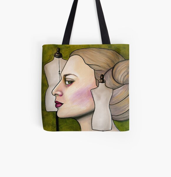 Katja of Sweden All Over Print Tote Bag