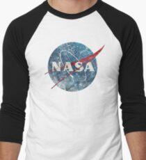 NASA Space Agency Ultra-Vintage Men's Baseball ¾ T-Shirt