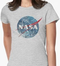 NASA Space Agency Ultra-Vintage Fitted T-Shirt