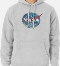 NASA Space Agency Ultra-Vintage Pullover Hoodie