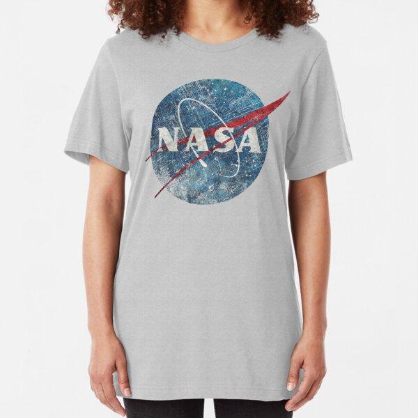 NASA Space Agency Ultra-Vintage Slim Fit T-Shirt