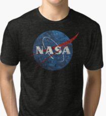 NASA Vintage Emblem Tri-blend T-Shirt