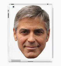 George Clooney iPad Case/Skin