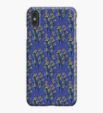 Daffodil dreaming in blue iPhone XS Max Case