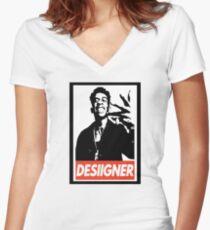 Desiigner Women's Fitted V-Neck T-Shirt
