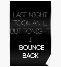 Bounce Back Poster