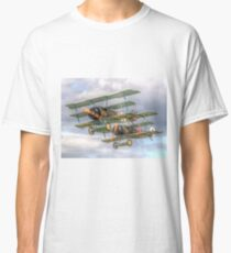 Two Little Fokkers - HDR - Dunsfold 2014 Classic T-Shirt