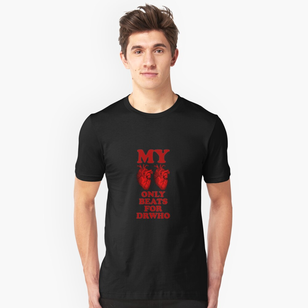 Love Only DrWho Unisex T-Shirt Front